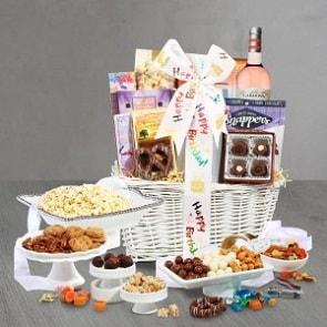 21st birthday gift baskets