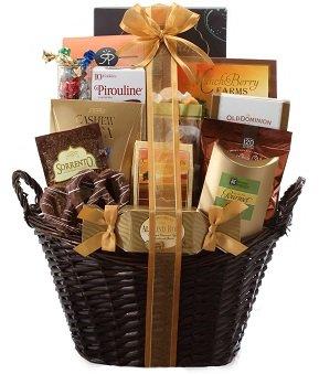 Gourmet gift baskets gift basket delivery broadway basketeers shop gift baskets negle Images