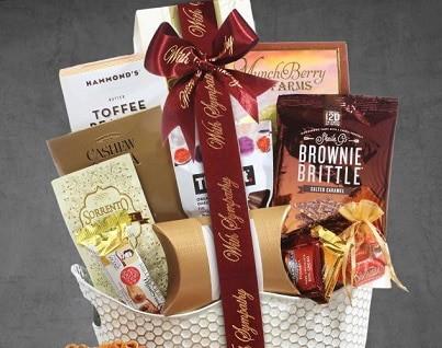 Gourmet Food Gift Basket Delivery Broadwaybasketeers
