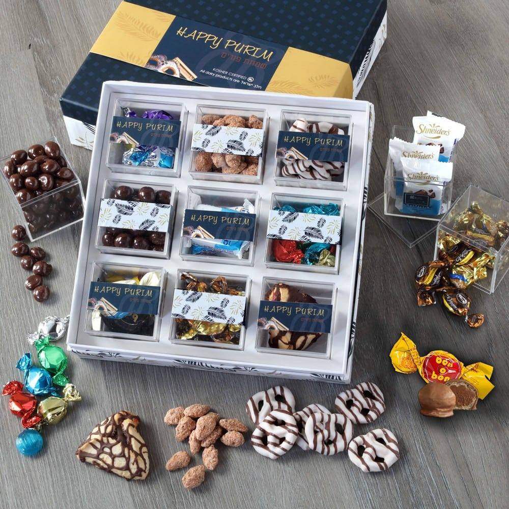 9 Box Purim Gift Set