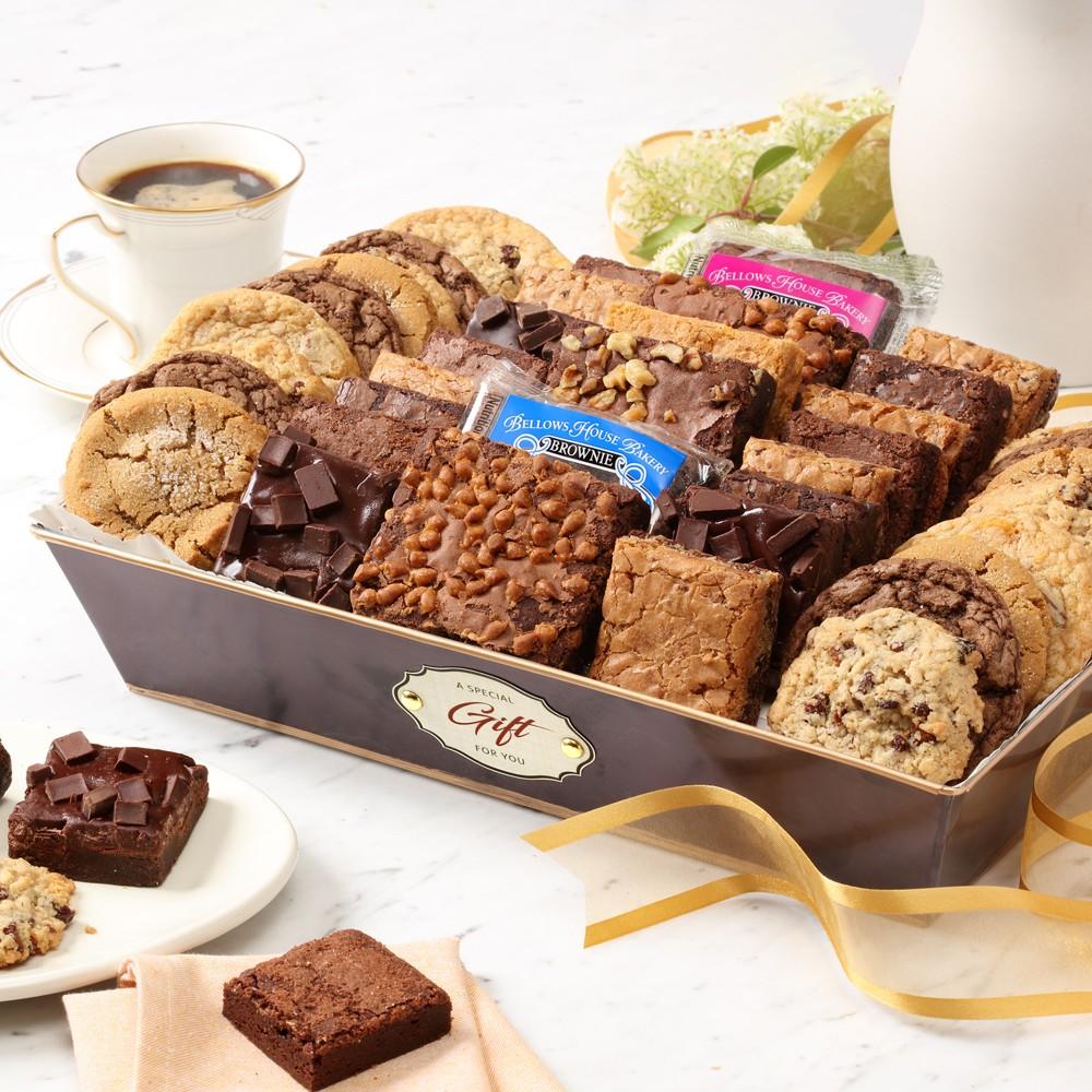 Deluxe Gourmet Brownie & Cookie Gift Basket