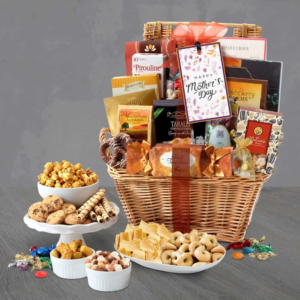 Deluxe Mothers Day Gift Basket