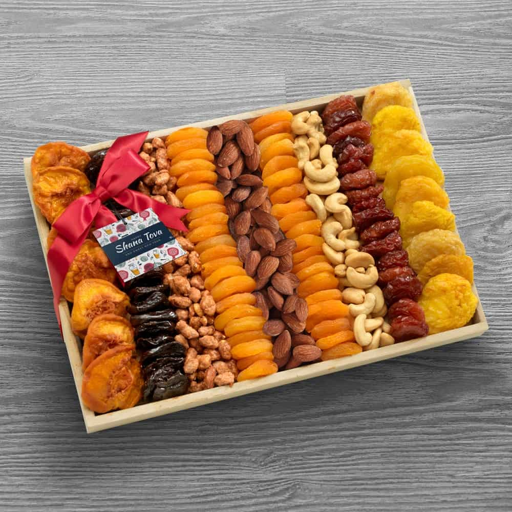 Dried Fruit & Nuts Sweet Gift Tray