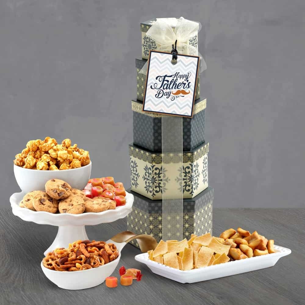 Fathers Day Appreciation Gift Tower