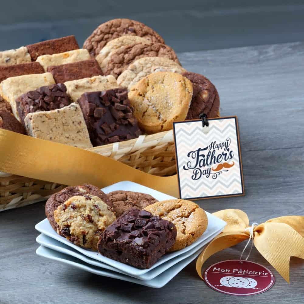 Fathers Day Bakery Gift Basket