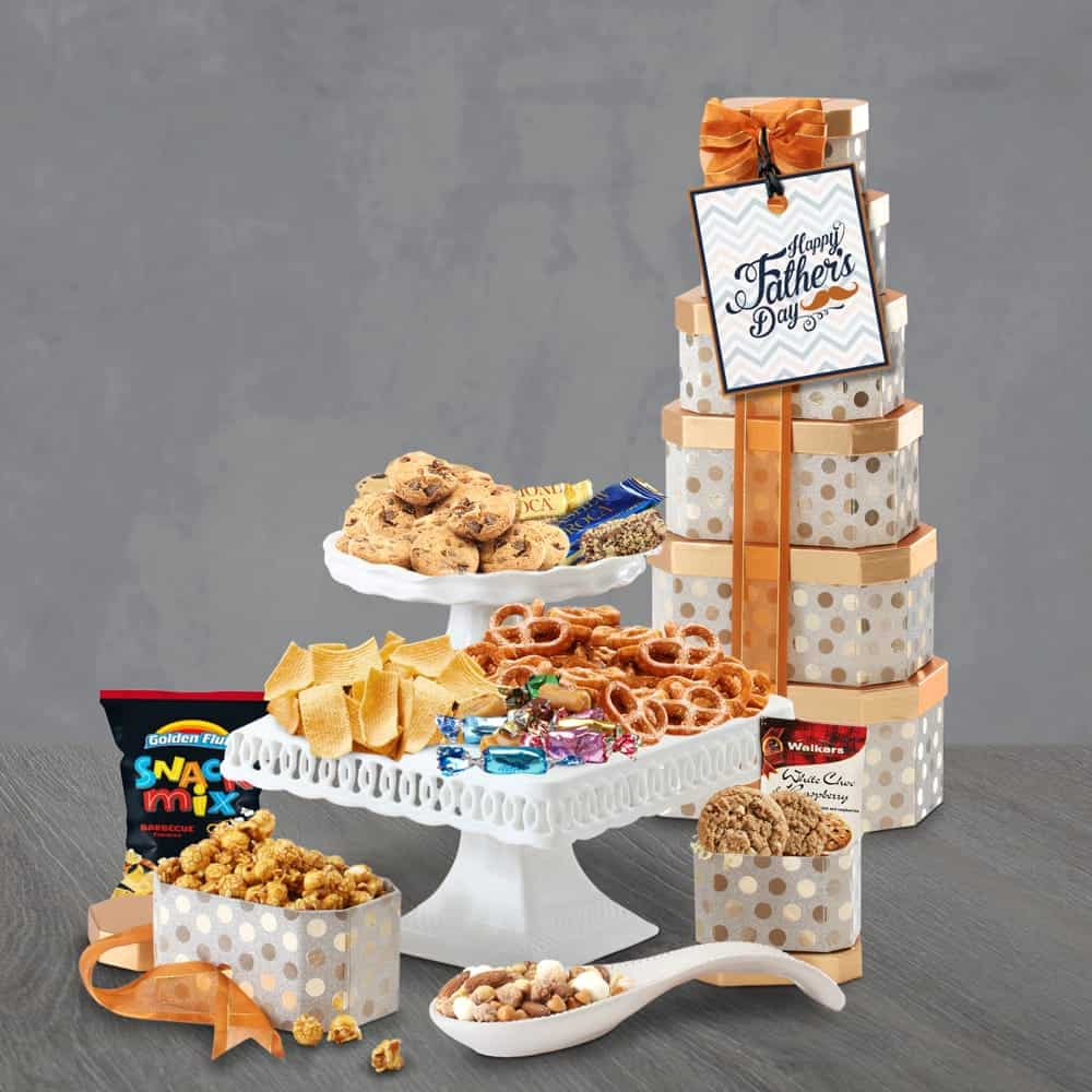 Fathers Day Delight Gift Tower