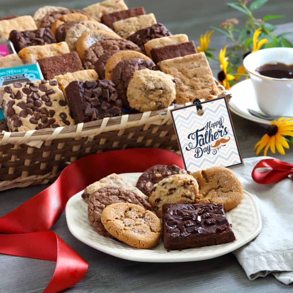 Fathers Day Deluxe Bakery Gift Basket