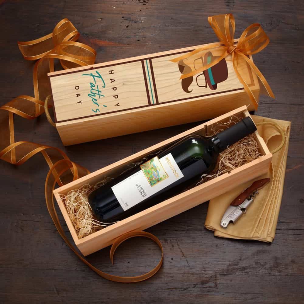 Fathers Day Wine Gift