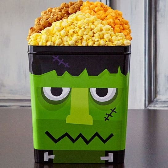 Frankenstein 3 Gallon Popcorn Tin