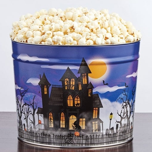 Fright Night 2 Gallon Popcorn Tin