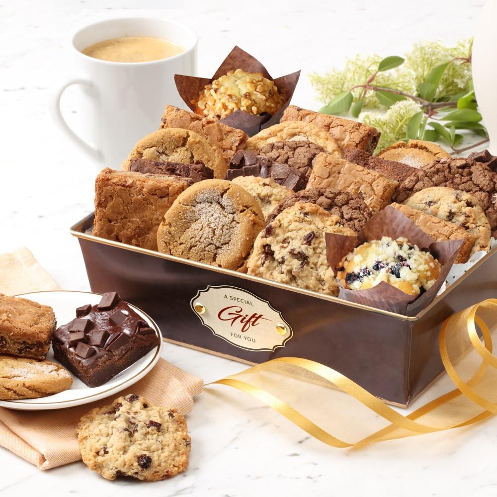 Gourmet Brownie & Cookies Gift Basket