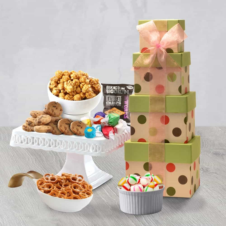Gourmet Celebration Gift Tower