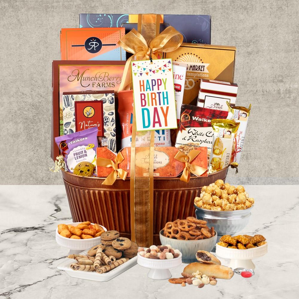 Grand Birthday Gift Basket