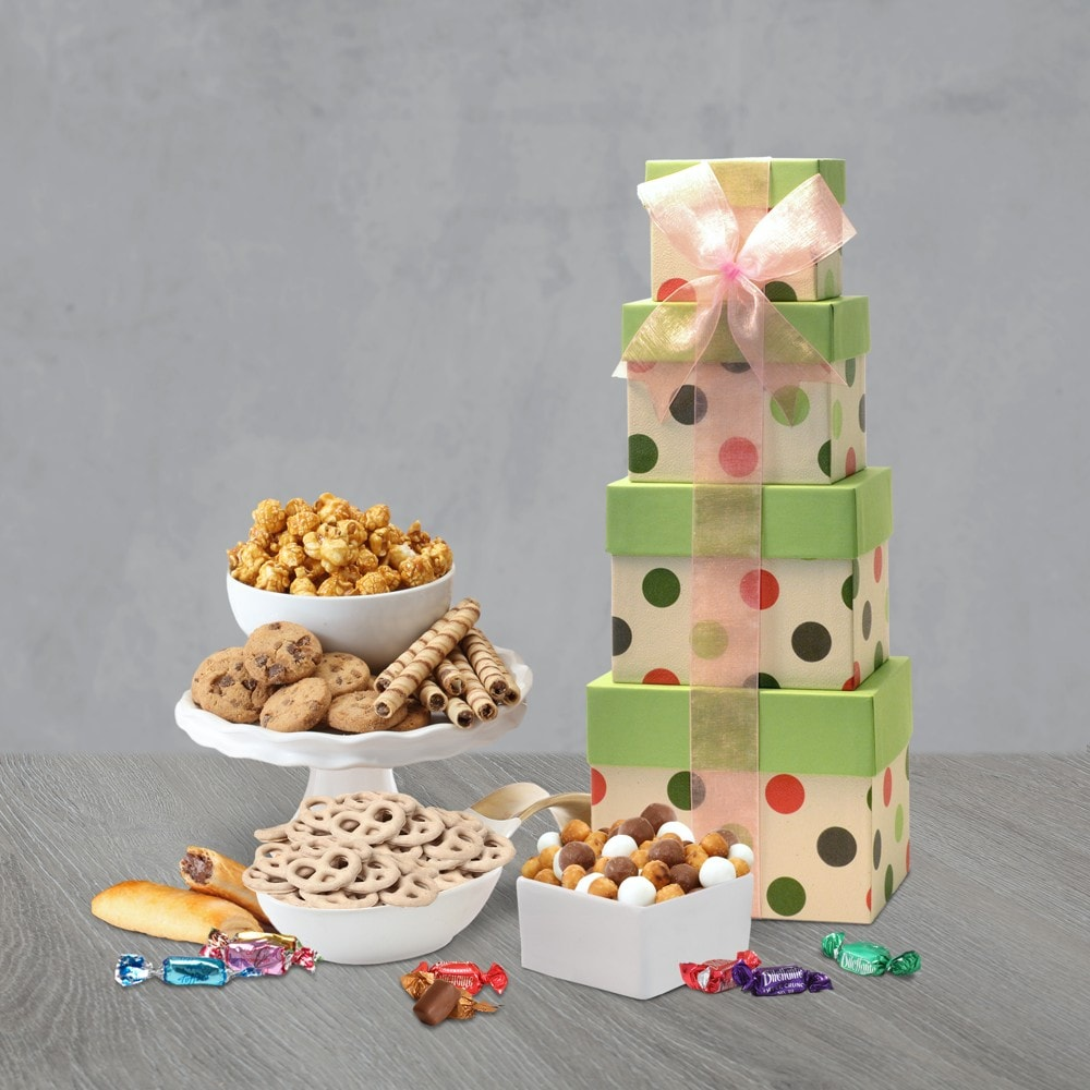 Holiday Celebration Gift Tower