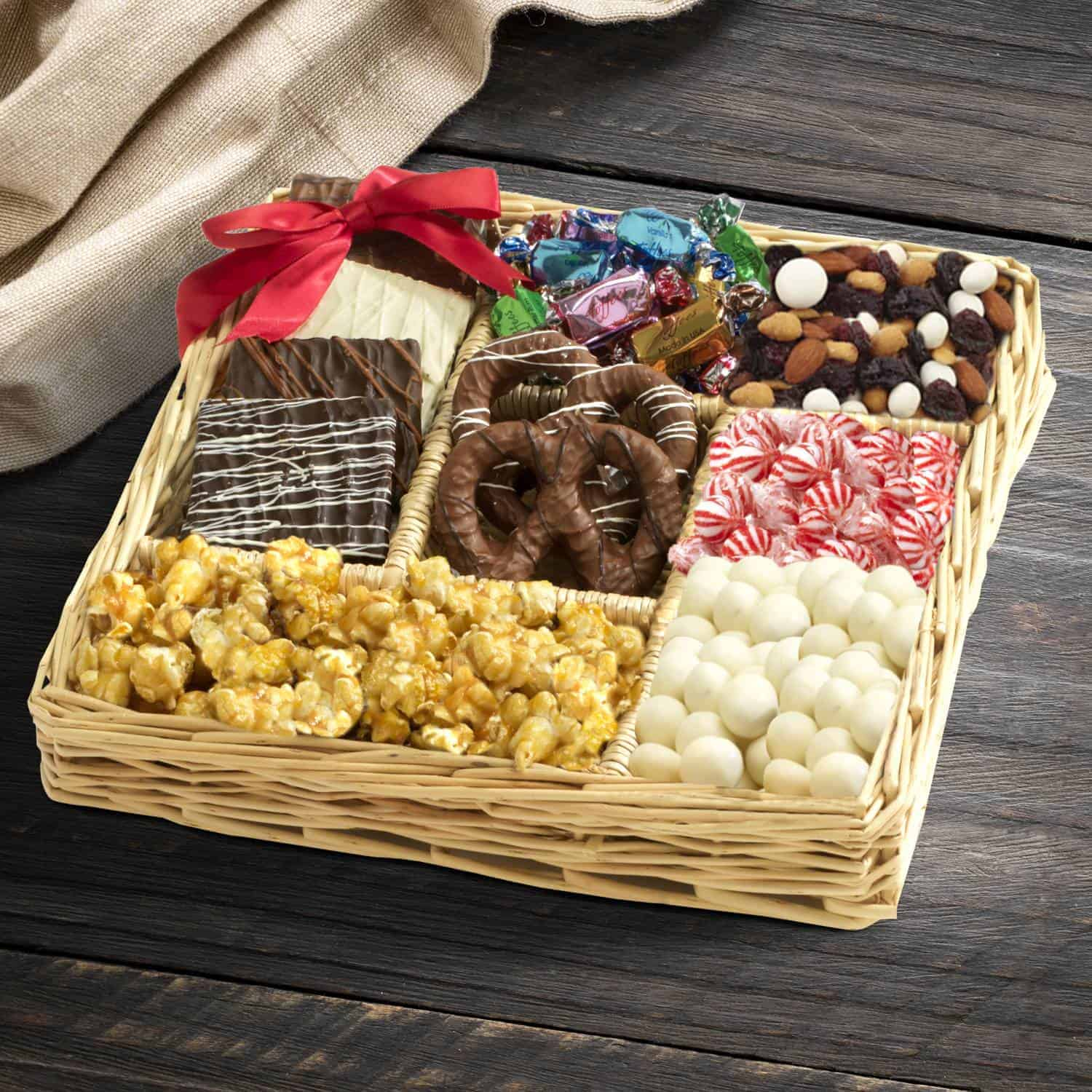 Christmas Chocolate & Nut Collection By BroadwayBasketeers.com
