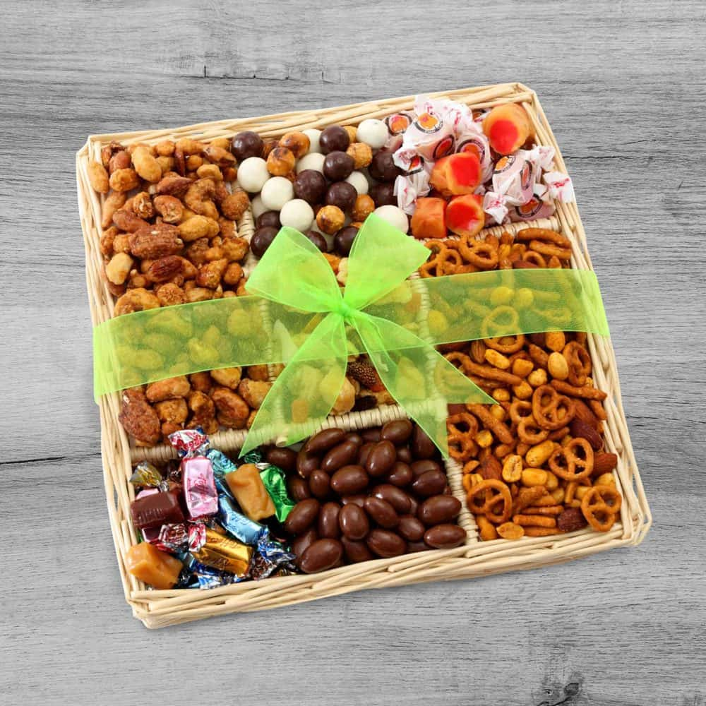Nuts, Caramels & Sweets Gift Tray
