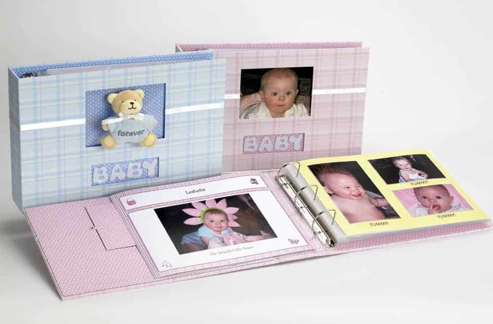 Baby Boy Forever Photo Album Gift Set
