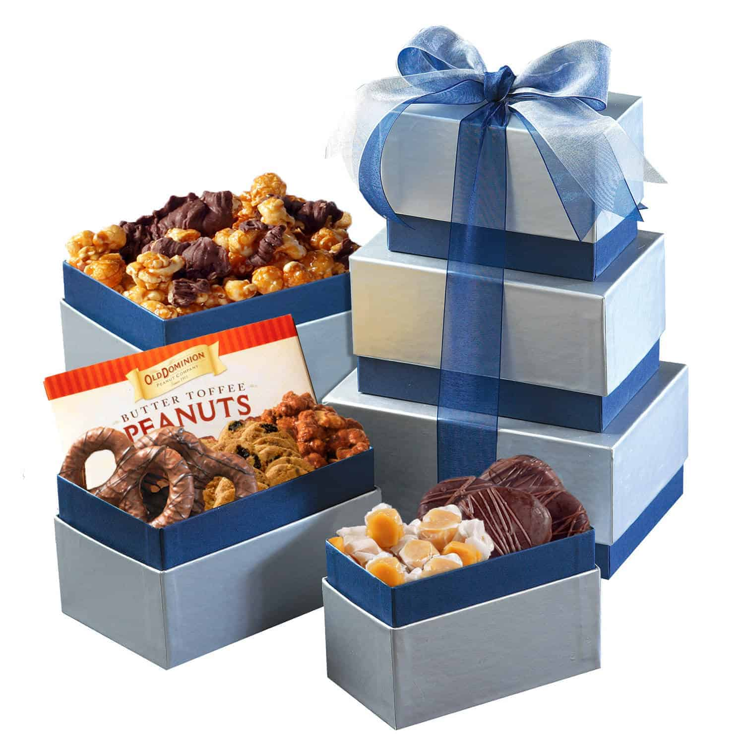 Holiday Gift Towers | Gourmet Gift Tower of Treats