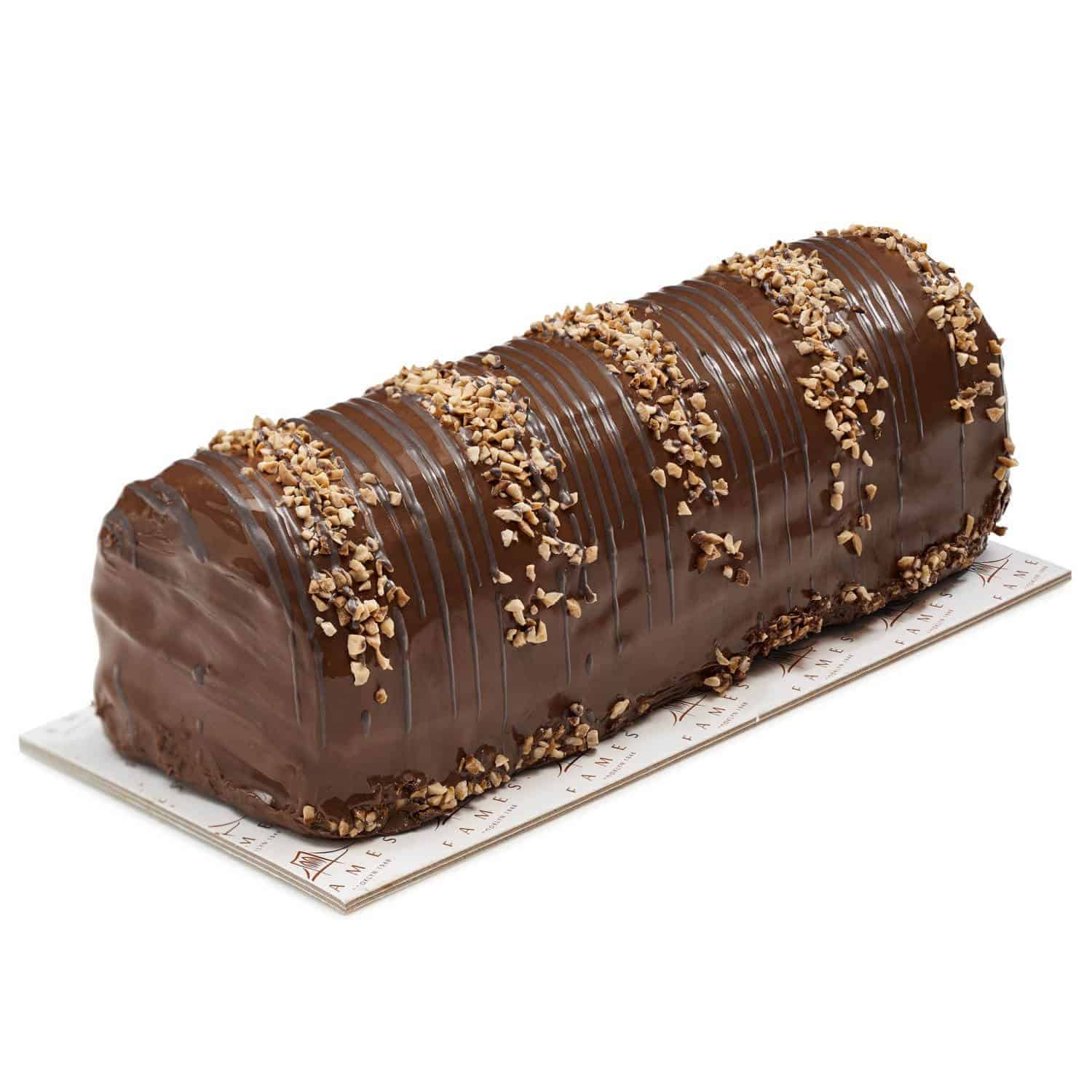 Zebra Chocolate Halva Log