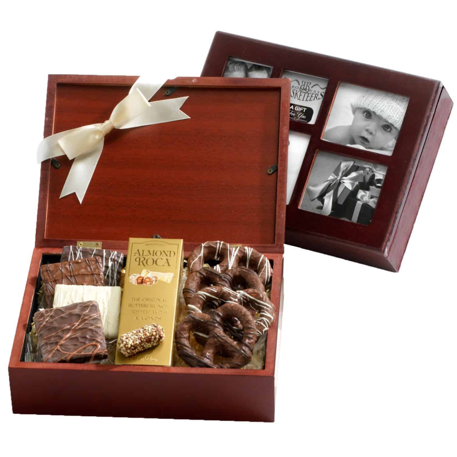 Beloved Chocolate Photo Gift Box