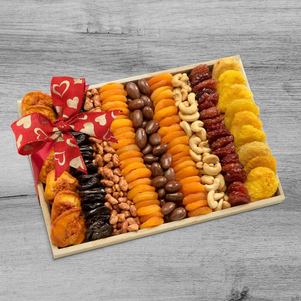Dried Fruit & Nut Valentines Day Gift