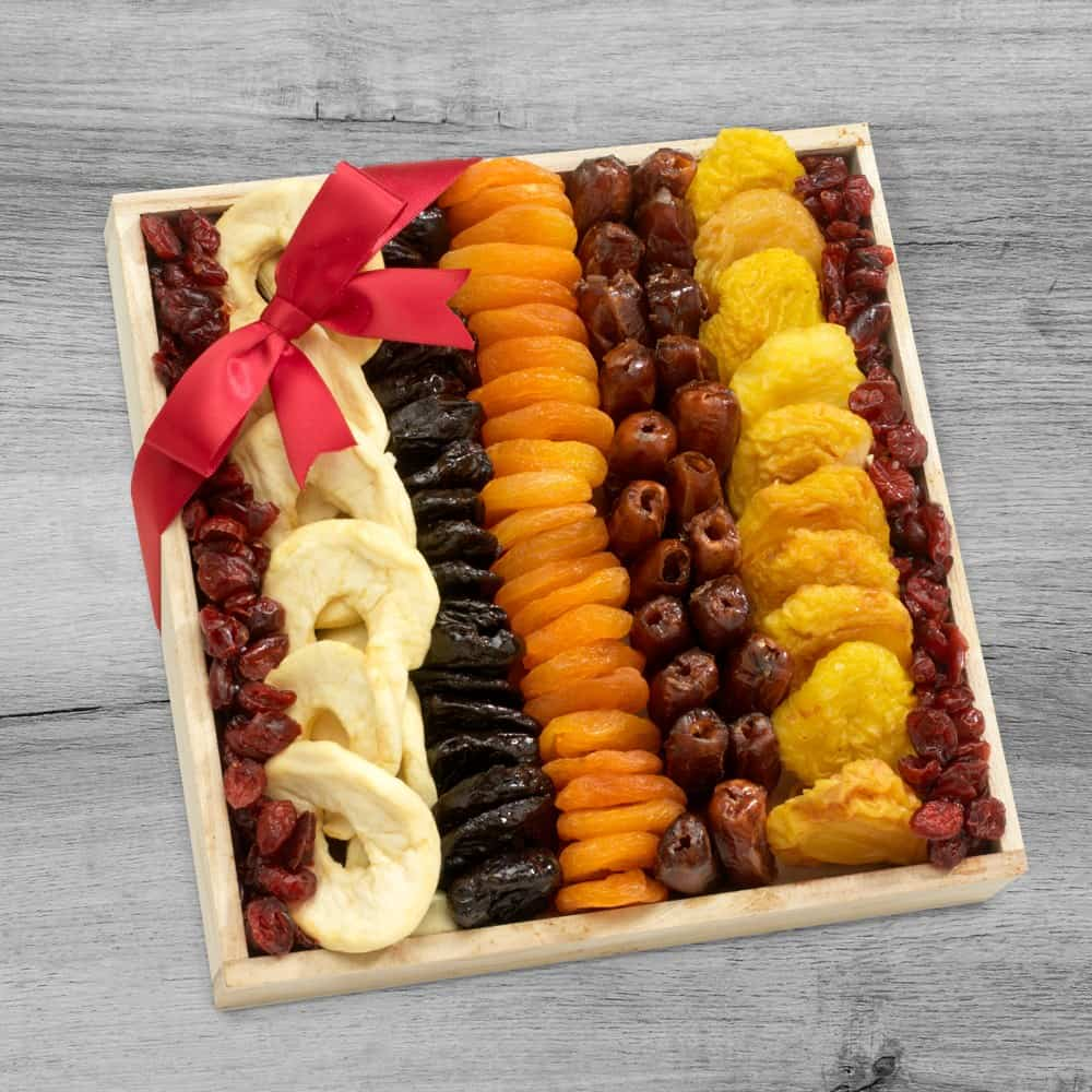 Dried Fruit Collection Gift Tray
