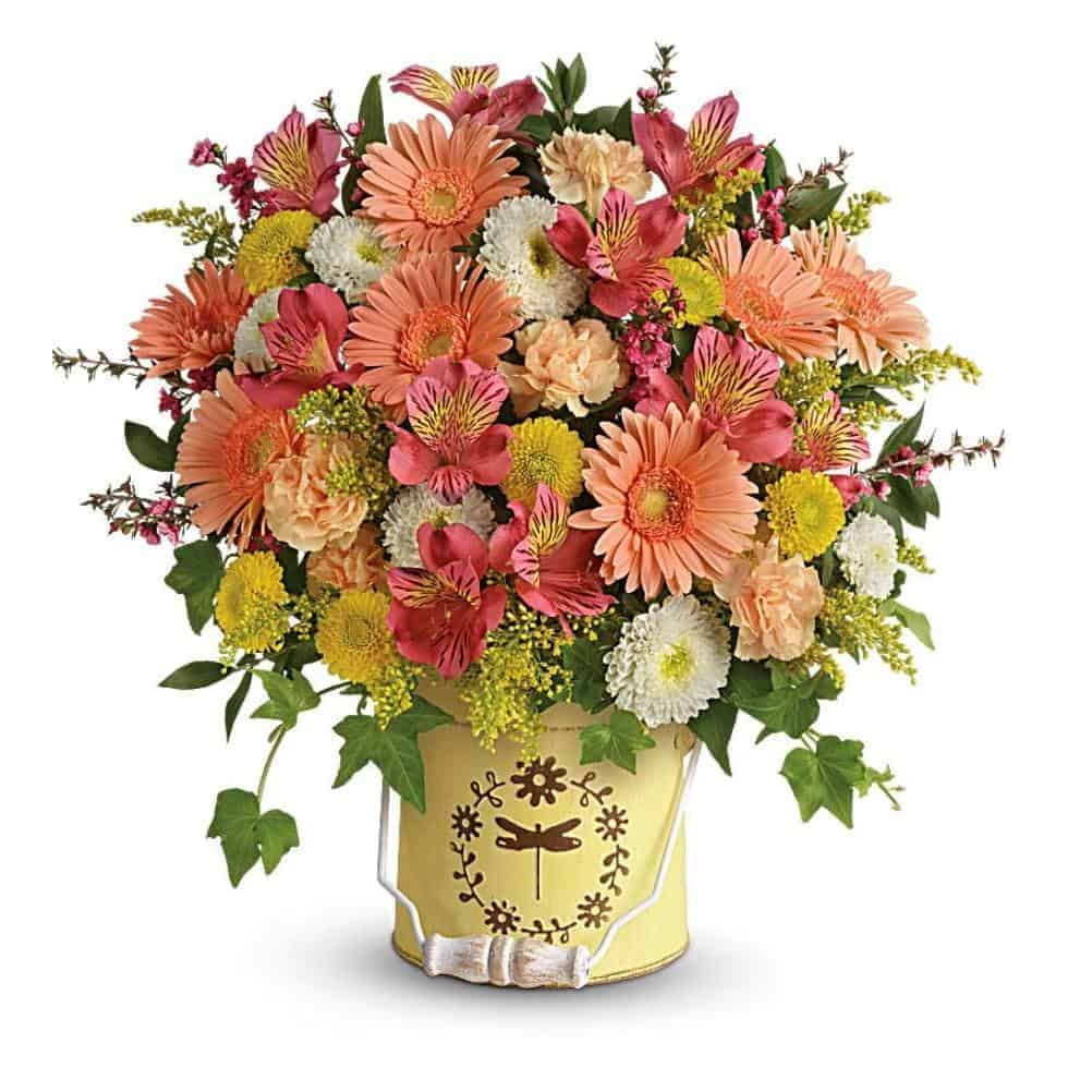 Spring Flower Bouquets Send Easter Flowers