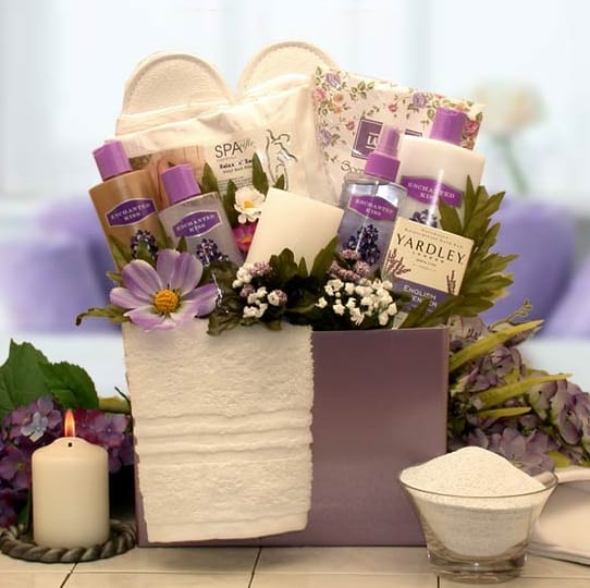Mothers Day Spa Gift Basket & Mothers Day Spa Gift Basket by BroadwayBasketeers.com