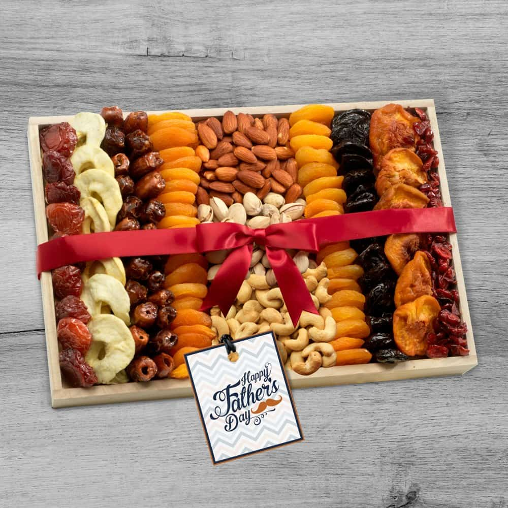 Healthy Gift Tray for Dad