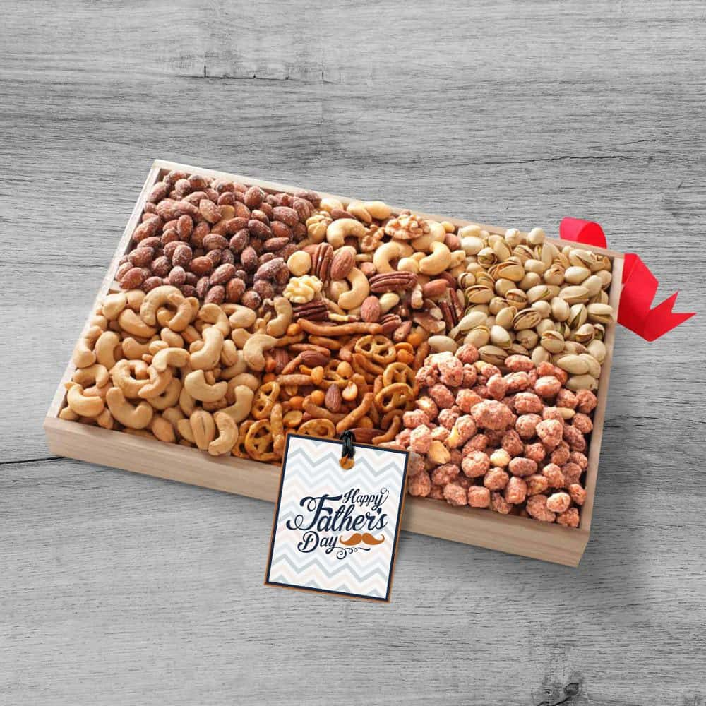 Nuts Gift Tray for Dad