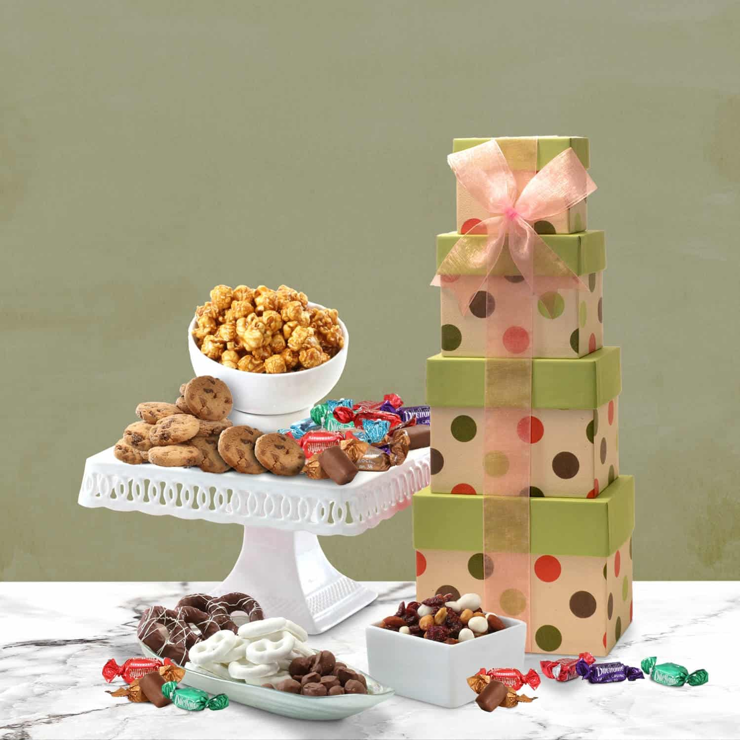 Gourmet Gift Towers for Celebrations