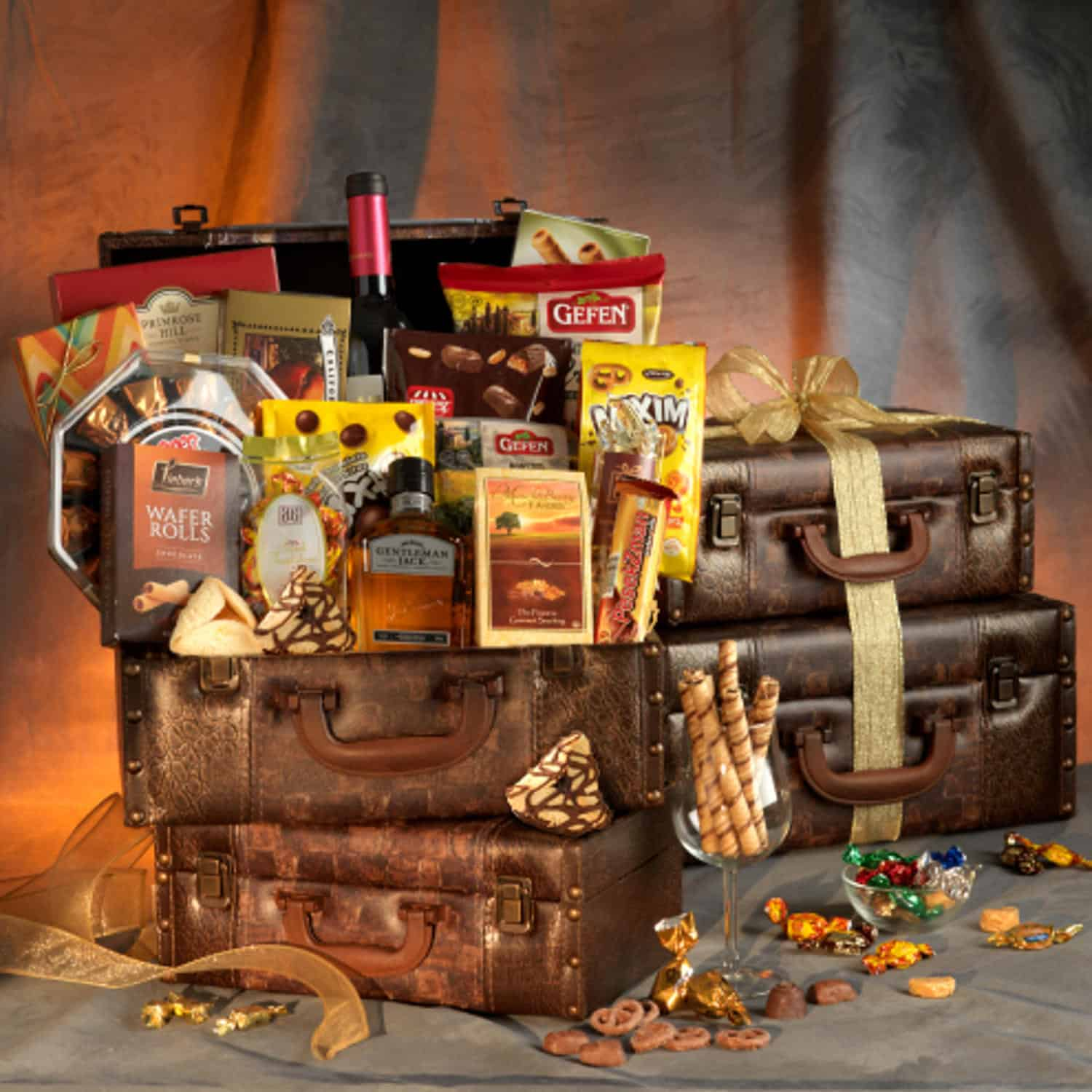 Passport To Luxury Purim Gift Basket
