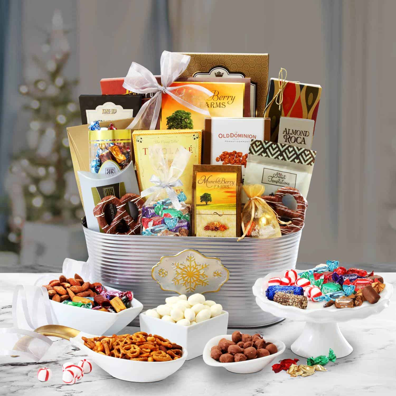 Gourmet Christmas Basket | Holiday Treat Baskets