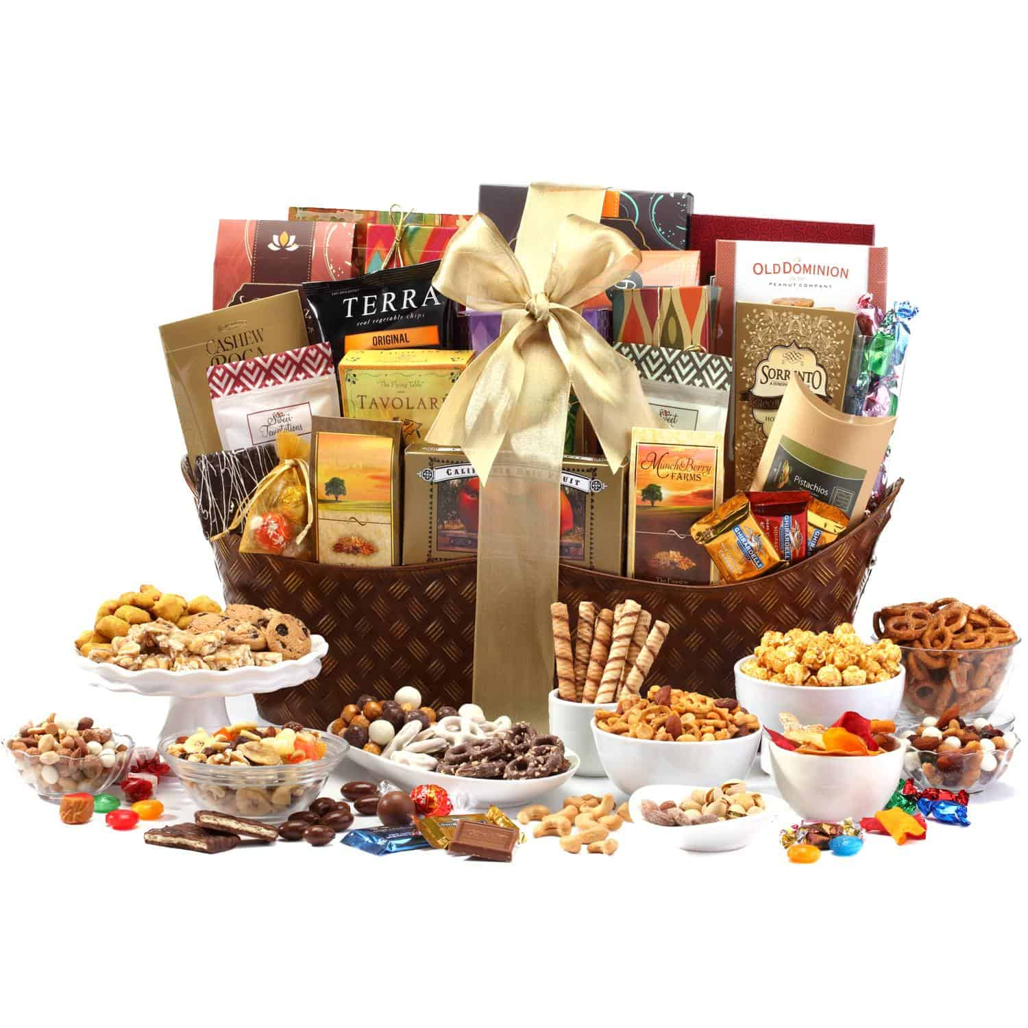 Ultimate Classic Gourmet Gift Basket By Broadwaybasketeers Com