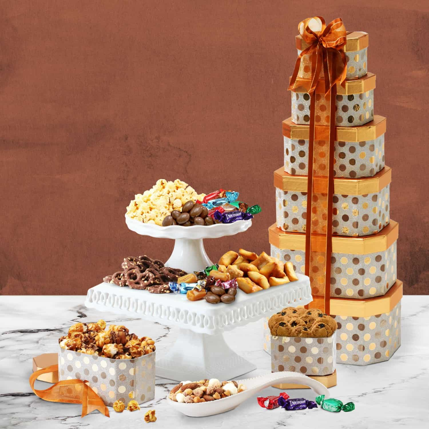 Gourmet Food Gift Delivery | Gourmet Christmas Towers