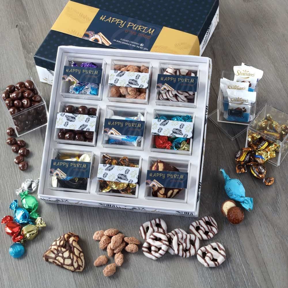 9 Box Purim Gift Set