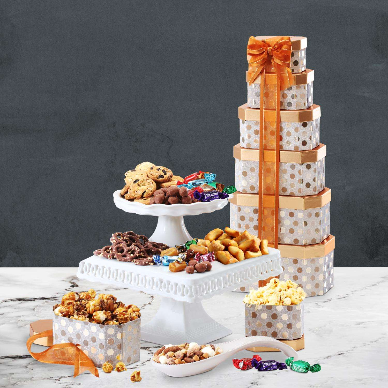 Economy Shipping 399 Sophisticated Birthday Tower