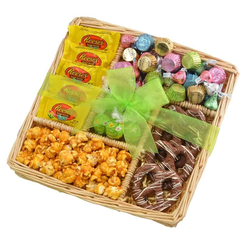 Chocolate Springtime Easter Gift Tray