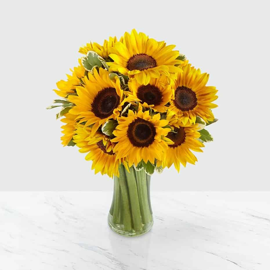 >Endless Summer Sunflower Bouquet
