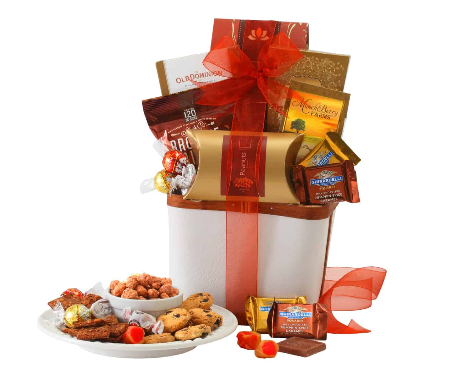 With Sympathy Chocolate Gift Basket