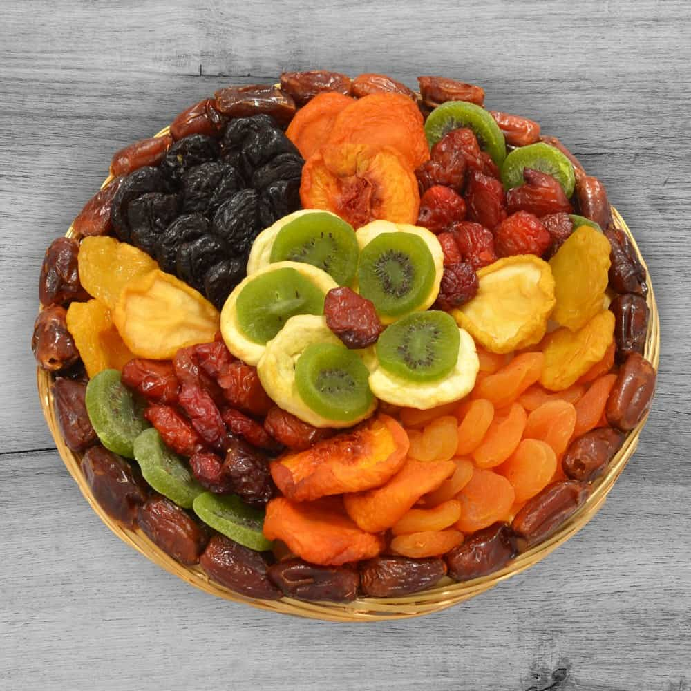 Premium Dried Fruit Flower Tray