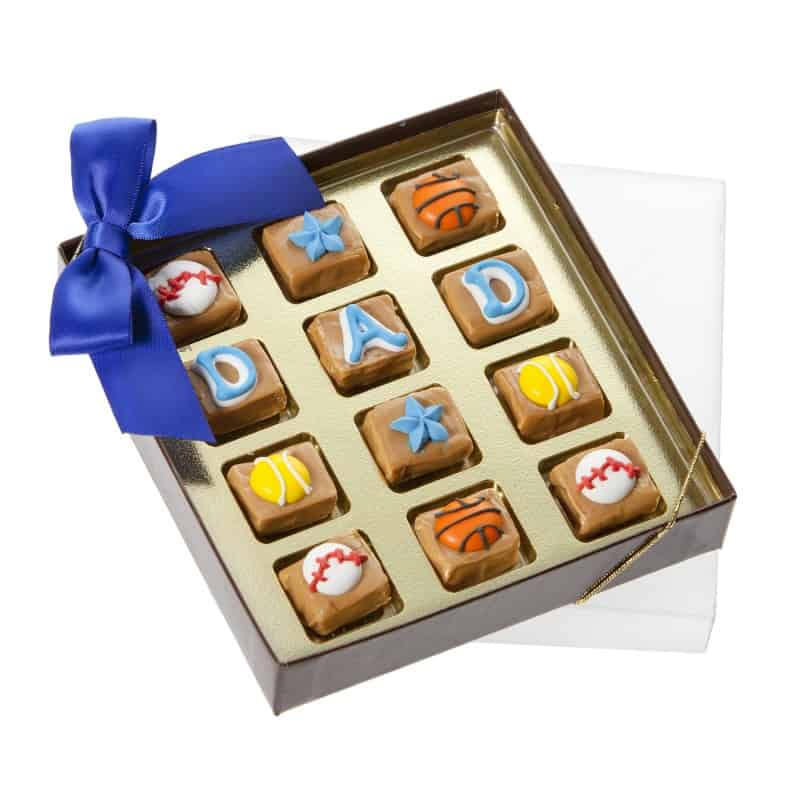 Fathers Day Caramel Gift Box