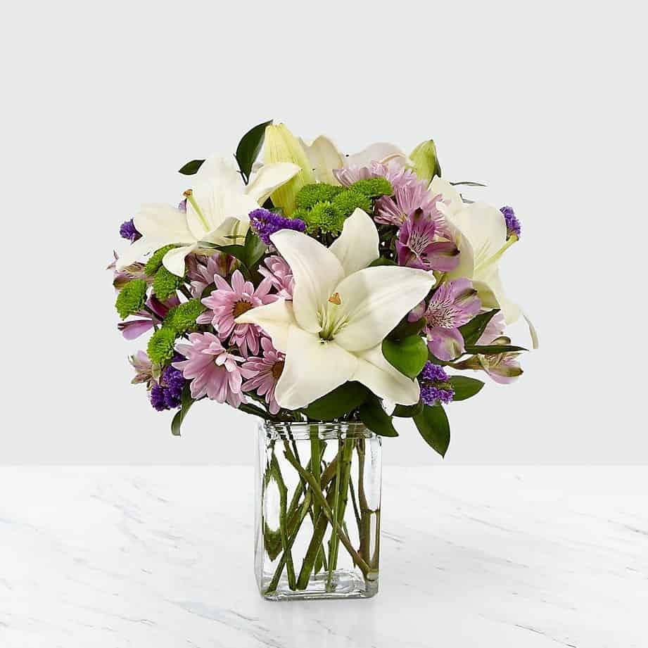 Lavender Fields Mixed Flower Bouquet