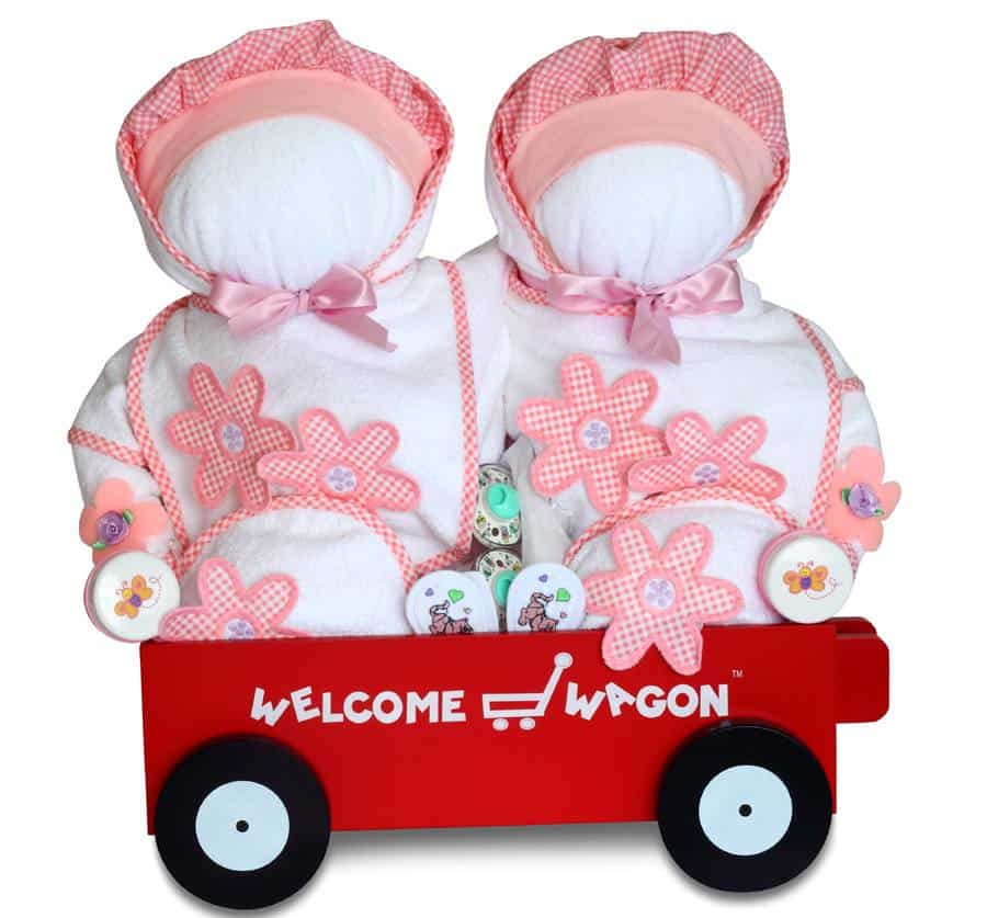 Welcome Wagon Deluxe Gift for Twins