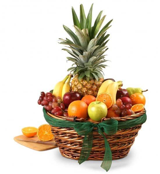 free delivery no sale tax best loved Elegant Fruit Basket