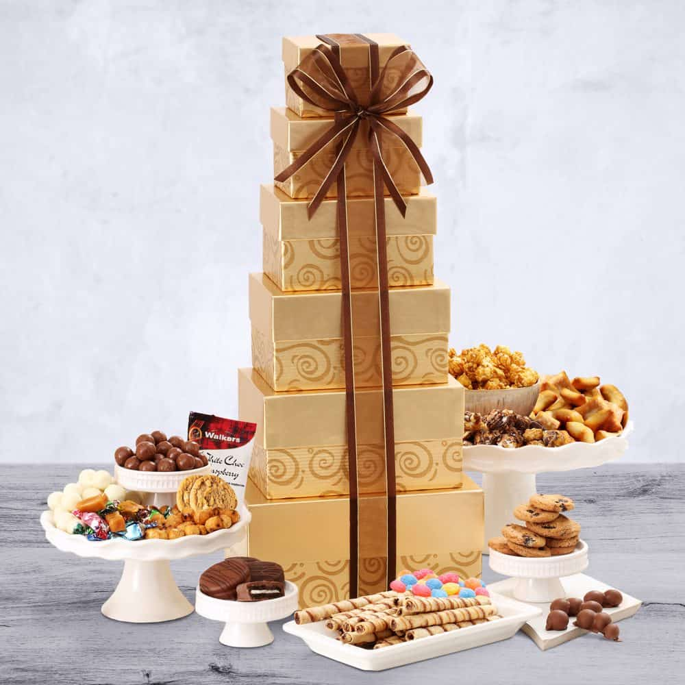 Deluxe Festive Gift Tower