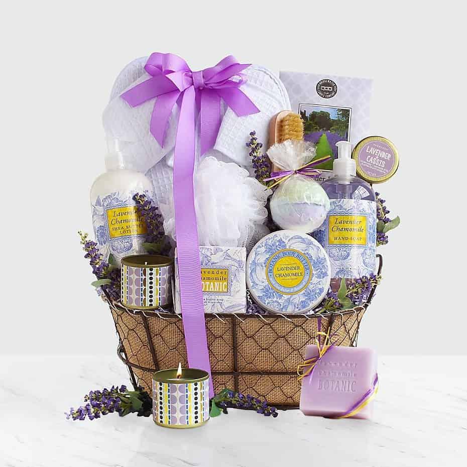 Ultimate Lavender Spa Basket