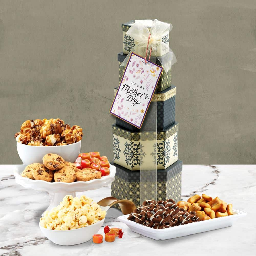 Mothers Day Appreciation Gift Tower
