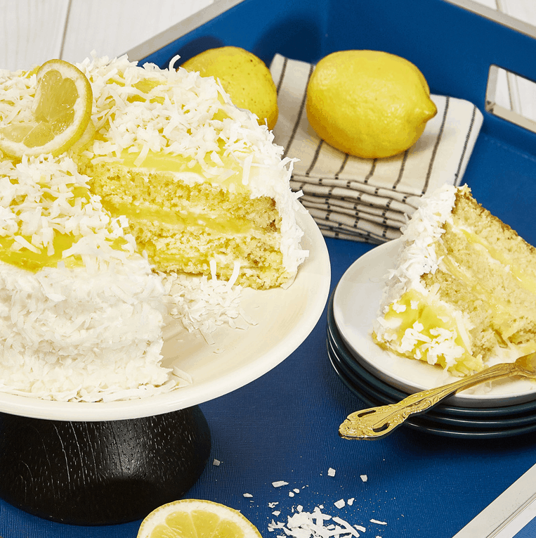 Lemon Coconut Delight