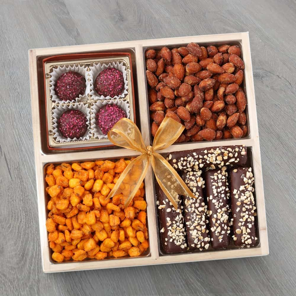 Dairy Free Chocolate & Nuts Tray